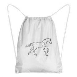 Рюкзак-мішок Beautiful horse