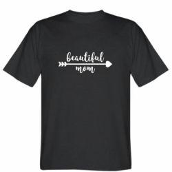 Чоловіча футболка Beautiful mom