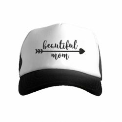 Дитяча кепка-тракер Beautiful mom