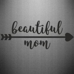 Наклейка Beautiful mom