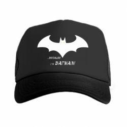 Кепка-тракер Because i'm batman