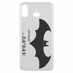 Чохол для Samsung A6s Because i'm batman