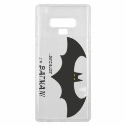 Чохол для Samsung Note 9 Because i'm batman