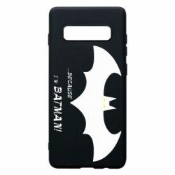 Чохол для Samsung S10+ Because i'm batman