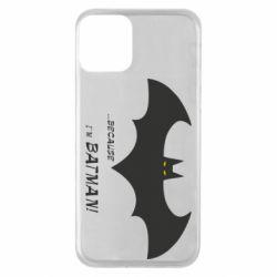 Чохол для iPhone 11 Because i'm batman