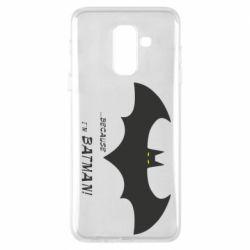 Чохол для Samsung A6+ 2018 Because i'm batman