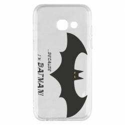 Чохол для Samsung A3 2017 Because i'm batman
