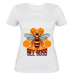Женская футболка Bee Boss