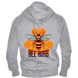Мужская толстовка на молнии Bee Boss