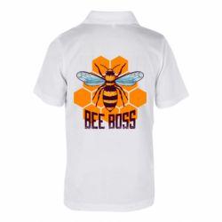 Детская футболка поло Bee Boss