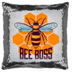 Подушка-хамелеон Bee Boss