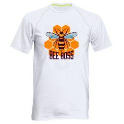 Мужская спортивная футболка Bee Boss