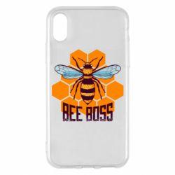 Чехол для iPhone X/Xs Bee Boss
