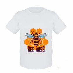 Детская футболка Bee Boss