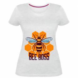 Женская стрейчевая футболка Bee Boss