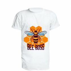 Удлиненная футболка Bee Boss