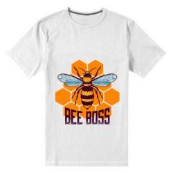 Мужская стрейчевая футболка Bee Boss