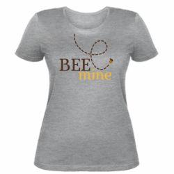 Жіноча футболка Sans smileBee mine