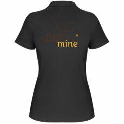 Жіноча футболка поло Sans smileBee mine