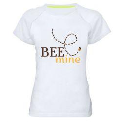 Жіноча спортивна футболка Sans smileBee mine
