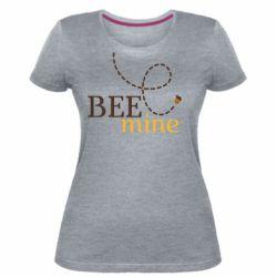 Жіноча стрейчева футболка Sans smileBee mine