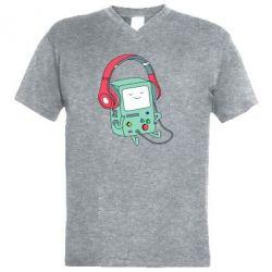 Чоловіча футболка з V-подібним вирізом Beemo
