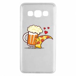 Чохол для Samsung A3 2015 Beer and Pizza were kissed