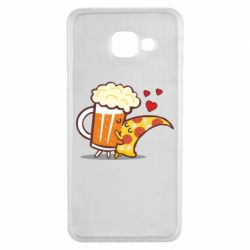 Чохол для Samsung A3 2016 Beer and Pizza were kissed