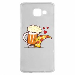 Чохол для Samsung A5 2016 Beer and Pizza were kissed