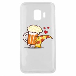 Чохол для Samsung J2 Core Beer and Pizza were kissed
