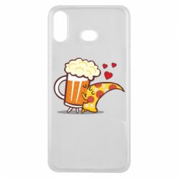 Чохол для Samsung A6s Beer and Pizza were kissed