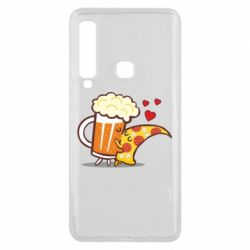 Чохол для Samsung A9 2018 Beer and Pizza were kissed