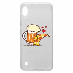 Чохол для Samsung A10 Beer and Pizza were kissed
