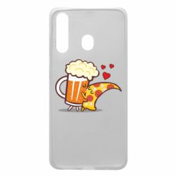 Чохол для Samsung A60 Beer and Pizza were kissed