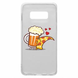 Чохол для Samsung S10e Beer and Pizza were kissed