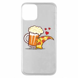 Чохол для iPhone 11 Beer and Pizza were kissed