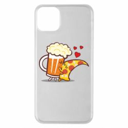 Чохол для iPhone 11 Pro Max Beer and Pizza were kissed