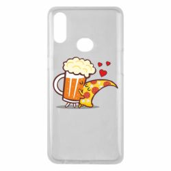 Чохол для Samsung A10s Beer and Pizza were kissed