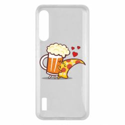 Чохол для Xiaomi Mi A3 Beer and Pizza were kissed