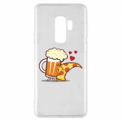 Чохол для Samsung S9+ Beer and Pizza were kissed