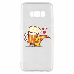 Чохол для Samsung S8 Beer and Pizza were kissed