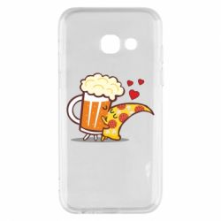 Чохол для Samsung A3 2017 Beer and Pizza were kissed