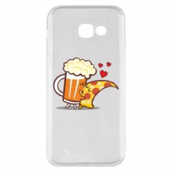 Чохол для Samsung A5 2017 Beer and Pizza were kissed