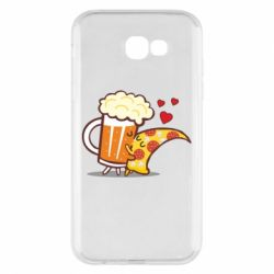 Чохол для Samsung A7 2017 Beer and Pizza were kissed
