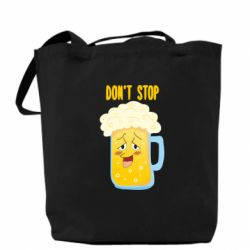 Сумка Beer don't stop