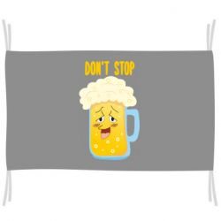 Прапор Beer don't stop
