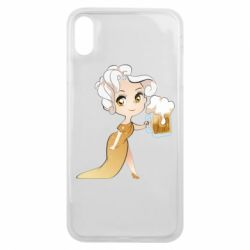 Чохол для iPhone Xs Max Beer girl