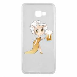 Чохол для Samsung J4 Plus 2018 Beer girl