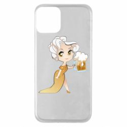 Чохол для iPhone 11 Beer girl