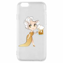 Чохол для iPhone 6/6S Beer girl